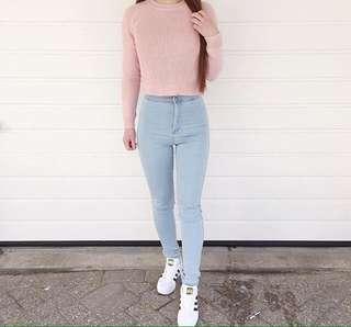 HW jeans light denim