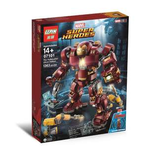 LEPIN™ 07101 The Hulkbuster: Ultron Edition UCS