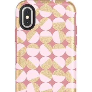 OtterBox iPhone X Symmetry IML Series 炫彩幾何金屬系列 保護套