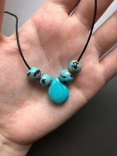 Handmade Necklace - Turquoise