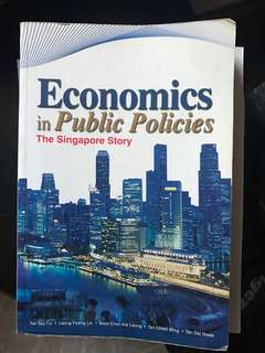 Economics in Public Policies