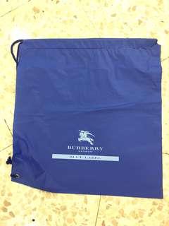 Burberry London Blue label 索繩購物膠袋