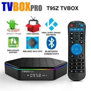T95Z Plus Tv Box 16 32G ROM 2 3G RAM S912 CPU Latest Android 7.1 TVBOX PRO (Full Apps Installation)