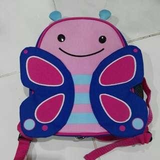Skip hop butterfly harness bag