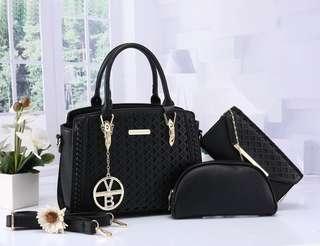 Handbag!!!☝☝☝ 🌹🌹🌹 Victoria Beckham (3 in 1) 5507-9 Gred AAA