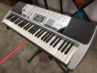 Casio Electronic Keyboard CTK-496