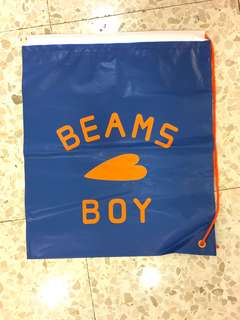 Beams Boy 索繩購物袋