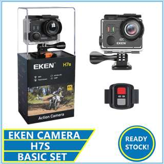 Eken H7S Touch Screen 4k Ultra HD Waterproof Action Cam H9R H8R H5S H6S
