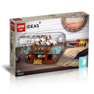 LEPIN™ 16051 Ideas Ship in a Bottle