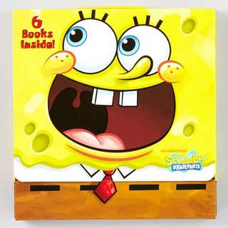🚚 Spongebob Squarepants: Happiness to Go! Box Set (6 Books)