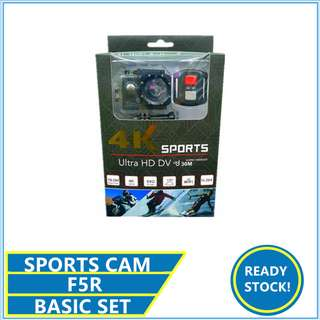 F5 F5R Sport Camera Action 4K Camera 30fps Full HD 1080P 720P WiFi F5 4K