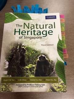 GES1021 Natural Heritage of Singapore 3rd edition