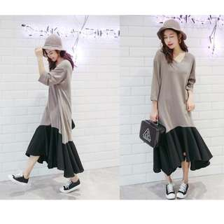 PO / Casual Fishtail Dress