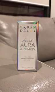 BRAND NEW Urban Decay Liquid Aqua Foundation Booster