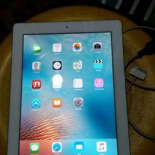 Apple ipad 2 wifi 16GB unit and charger only