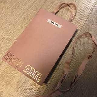 MIU MIU Shopping Pink Bag 🛍