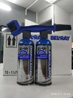 Bel ray super clean chain care package