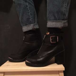 Wittner Leather Boots Size EUR 37