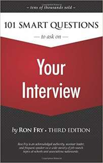 eBook - 101 Questions To Ask On Your Interview by Ron Fry