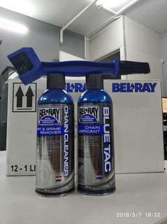 Bel ray bluetac chain care package