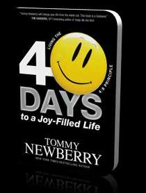 eBook - 40 Days To A Joy Filled Life by Tommy Newberry