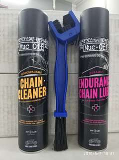 Muc-Off Endurance chain care package