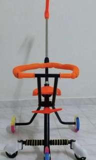 Baby Trolley 5 Wheel with lights. Interested pls watsapp 0183419301