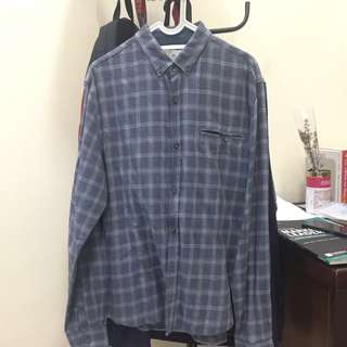 Kemeja Flannel by Cotton On Vintage Look