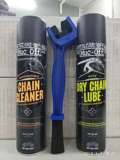 Muc-Off Dry chain care package