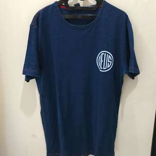 Deus ex Machina Tshirt Blue Indigo sz M