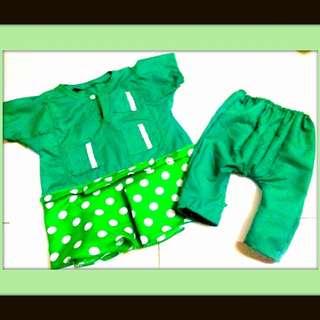 baby baju melayu pelbagai pilihan warna