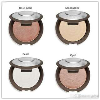 BECCA highlighter in trial pack