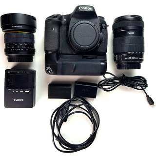 Canon 7D Mark 1 with BONUS ITEMS