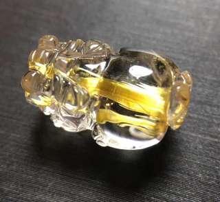 3⃣️ 天然钛晶貔貅