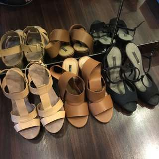 Sandals 3 for 1000
