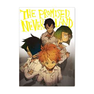 [PO] The Promised Neverland Double Pocket Clear File