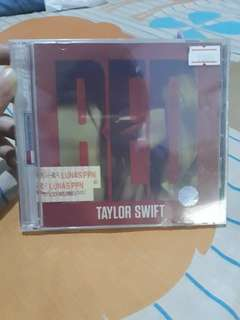 "Taylor Swift ""Red"" (sealed)"
