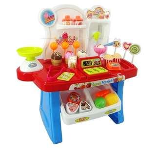 Mini market toys set