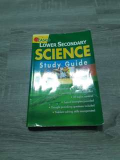 lower sec science study guide