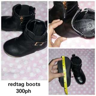 Redtag boots size 22