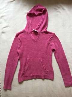 Pink Fleece Sweater