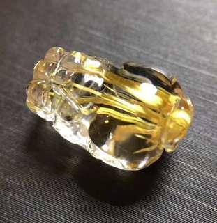 4⃣️天然钛晶貔貅