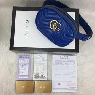 GUCCI BELT BAG 100 % GENUINE LEATHER