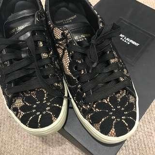 Saint Laurent shoes lace black lace up size 39