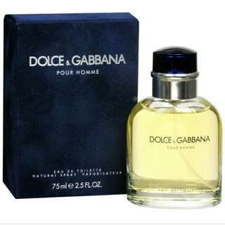Dolce & Gabbana pour homme 75ml