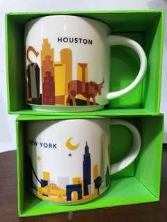 Starbucks YAH mugs