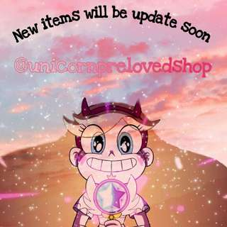will be update my preloved stuffs