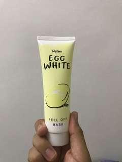 Mistine Egg White Peel Off Masker