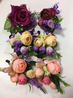 結婚 姐妹 家人 襟花