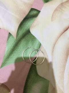 Pull&Bear Hoop Earrings Size medium